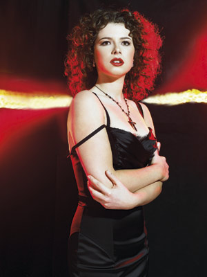 Jessie Buckley, 19, Nancy contestant, does Madonna