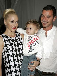Gwen Stefani, husband Gavin Rossdale and son , son Kingston Rossdale