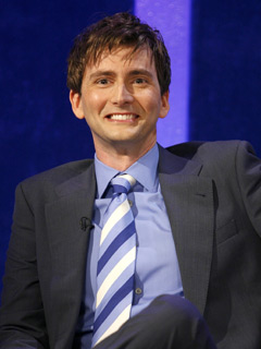 David Tennant gets interviewed in May 2007