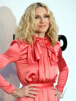 Madonna looks youthful