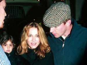 Madonna and Guy Ritchie spotted for the first time