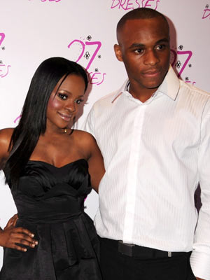 Keisha Buchanan and Dean Thomas get engaged