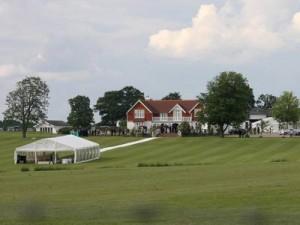 The couple choose Eastlands estates for their venue