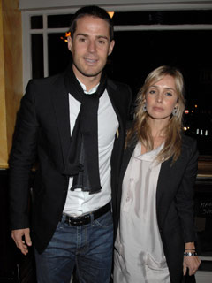 Jamie and Louise Redknapp pose for the cameras