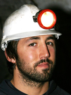 Gavin Henson is kept in the dark