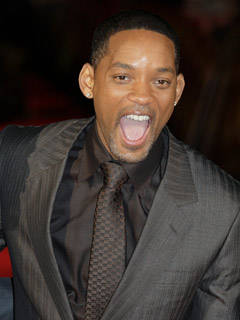 Will Smith clowns around