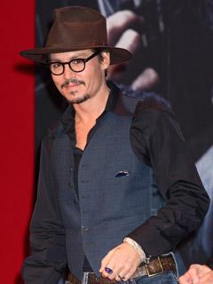 Johnny Depp does laid back cool