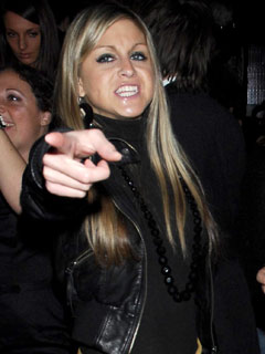 What's the matter with Nikki Grahame?