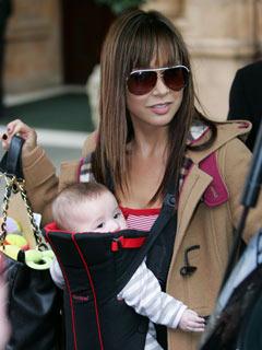 How cute is Myleene Klass' baby Ava?