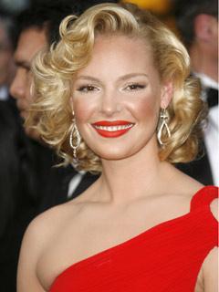 Katherine Heigl takes tips from Marilyn Monroe