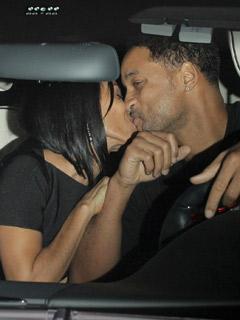 Will Smith and Jada Pinkett Smith look cute!