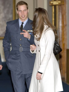 Prince William and Kate Middleton catch up
