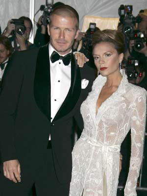 Victoria and David Beckham make a stylish couple