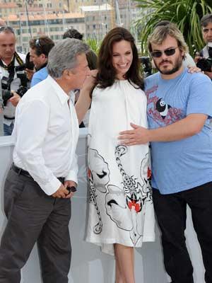 Angelina Jolie, Jack Black and Dustin Hoffman