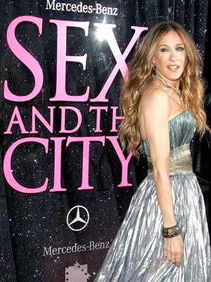 Sarah Jessica Parker at New York Premiere of Sex and the City