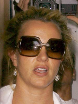 Britney Spears looks a mess