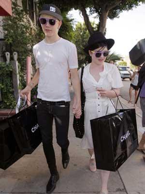 Kelly Osbourne and Luke Worrell get spending