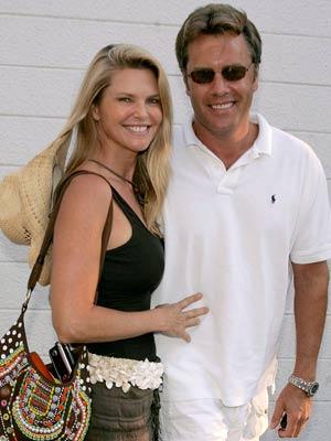 Christie Brinkley and estranged husband Peter Cook