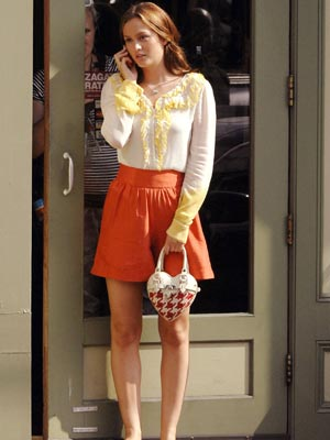Gossip Girl - behind the scenes of season 2: The outfits stay as good as ever
