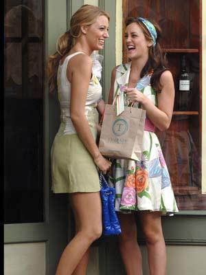 Gossip Girl - behind the scenes of season 2: At least Blair Waldorf and Serena van der Woodsen are still friends
