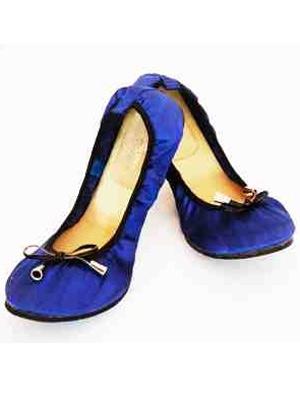 CocoRose blue pumps