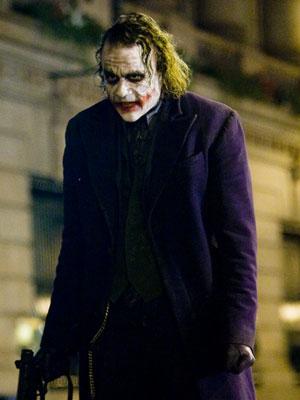 Heath Ledger stands tall as The Joker