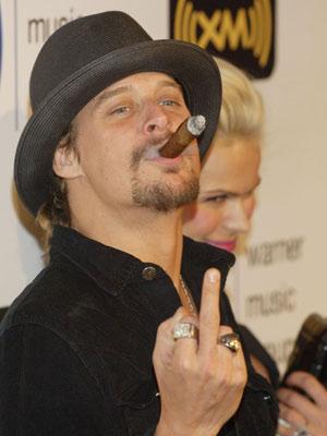 Celebrity smoker: Kid Rock