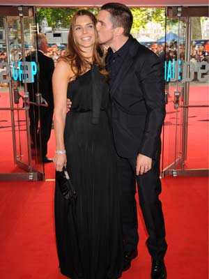 The Dark Knight UK premiere: Christian Bale shares the attention