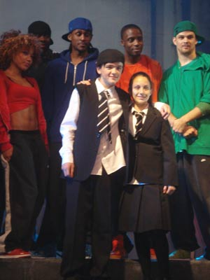 EXCLUSIVE PICS George Sampson makes West End debut