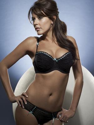 Danielle Bux modelling La Senza lingerie