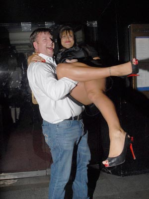 Jade Goody gets a helping hand