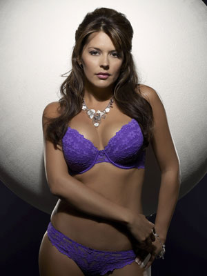 6a366b630e Gary Lineker s 32DD girlfriend Danielle Bux to model bras - CelebsNow