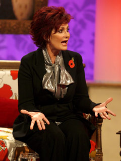 Sharon Osbourne proves her point
