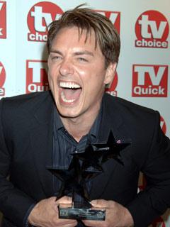 John Barrowman has a laugh in September 2007