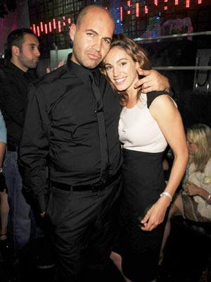 Billy Zane and Kelly Brook are one happy couple
