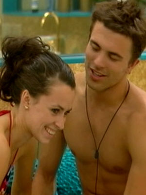 Big Brother love birds: Jennifer Clark and Dale Howard