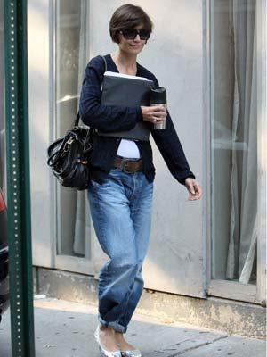 Katie Holmes is ready for action