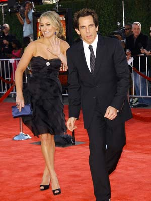 Tropic Thunder premiere: Ben Stiller is ready to go