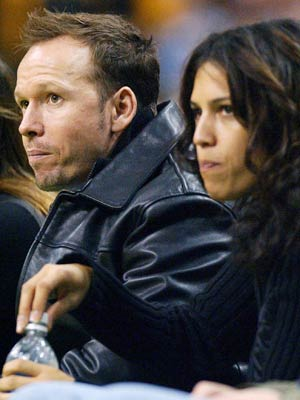 Donnie Wahlberg and wife Kim Fey to divorce - CelebsNow