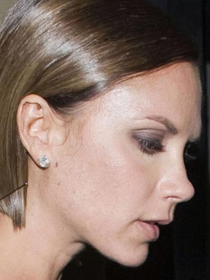 Looks like Victoria Beckham could do with a wash