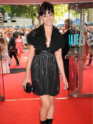 The Dark Knight UK premiere: Daisy Lowe takes a fashion risk