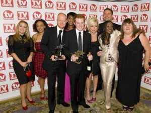 TV Quick Awards: EastEnders celebrate their win