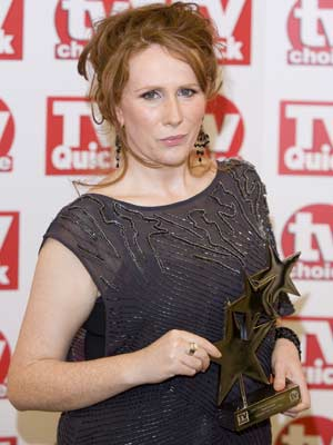 TV Quick Awards: Catherine Tate does not look impressed