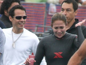 Jennifer Lopez and Matthew McConaughey compete in celebrity triathlon