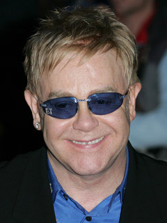 Elton John takes it too far