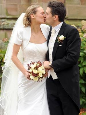 Tom Chambers marries Clare Harding