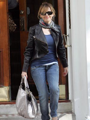 Kylie Minogue is cool and casual
