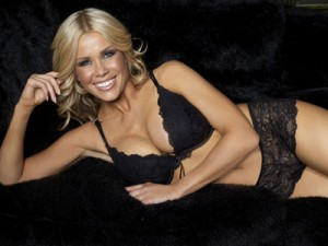 Melinda Messenger models sexy new Ultimo D-G cup collection