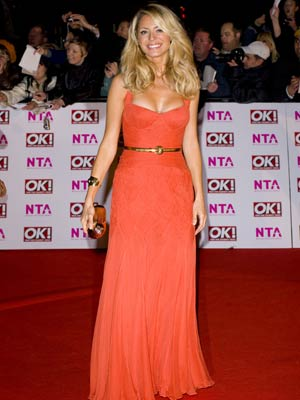 Best Dressed: Tess Daly shines
