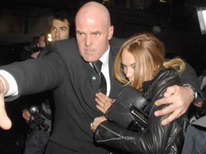 Lindsay Lohan is protected